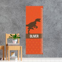Dino And Me - Orange Growth Chart