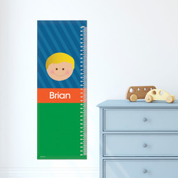 Just Like Me Boy - Blue Growth Chart