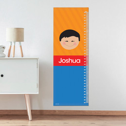 Just Like Me Boy - Orange Growth Chart
