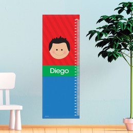 Just Like Me Boy - Red Growth Chart