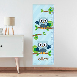 Owl Be Yours Blue Growth Chart