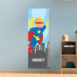 A Cool Superhero Growth Chart