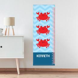 Happy Crab Growth Chart