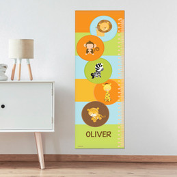 Cute Baby Animals Growth Chart