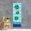 Swimming Blue Turtle Growth Chart