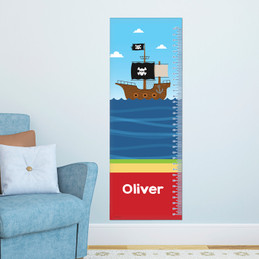 All Aboard Pirates Growth Chart