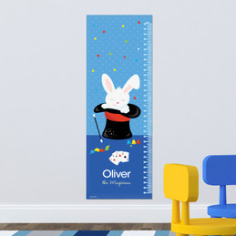 Cute Magician Boy Growth Chart