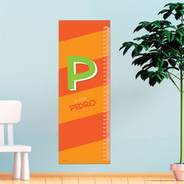 Brilliant Initial - Orange Growth Chart
