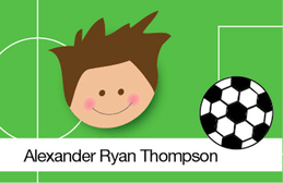 Want To Play Soccer  Gift Tag