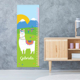 Sweet Llama on the Field Growth Chart