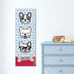 Cool Dogs - Blue Growth Chart