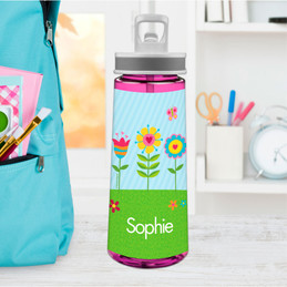 Spring Blooms Sports Water Bottle