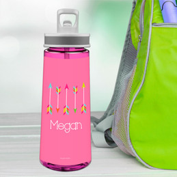 Colorful Arrows Sports Water Bottle