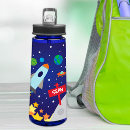 Rocket Launch Sports Water Bottle