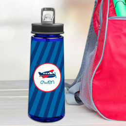 Airplane Ride Sports Water Bottle