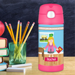 Learning Time Thermos Bottle