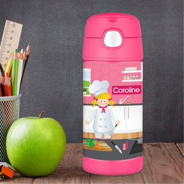 A Girl Chef's Taste Thermos Bottle