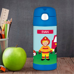 Call a Firefighter Thermos Bottle