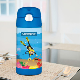 Under the Sea Boy Thermos Bottle