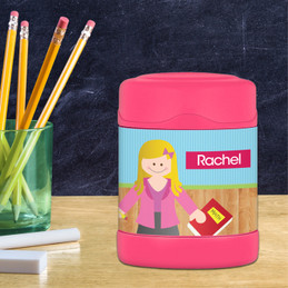 Learning time Thermos Food Jar