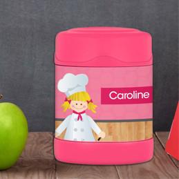 A Girl Chef's Taste Thermos Food Jar