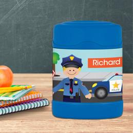 Police on Duty Thermos Food Jar