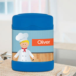 A Chef's Taste Boy Thermos Food Jar