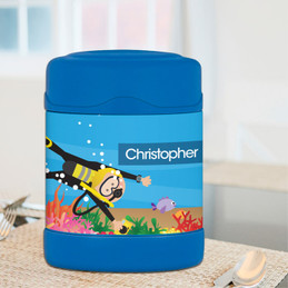 Under the Sea Boy Thermos Food Jar
