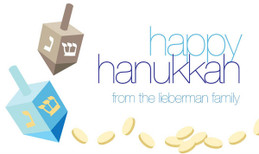 A Couple Of Dreidels Hanukkah Calling Card