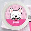 Fun & Cute Dog - Pink