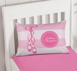 My Ballerina Shoes Pillowcase Cover