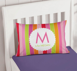 Bold & Fun Stripes Pillowcase Cover