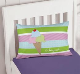 Yummy Ice Cream Pillowcase Cover