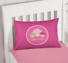 Sweet Cupcakes Kids Throw Pillows