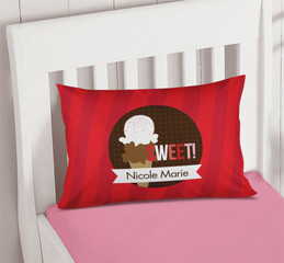 Sweet & Yummy Red Pillowcase Cover