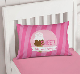 Sweet & Yummy Pink Pillowcase Cover