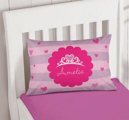 I am a Pretty Princess Pillowcase Cover