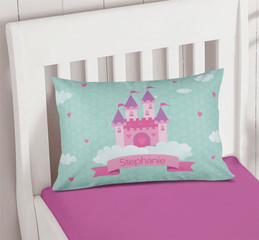 A Castle in the Sky Pillowcase Cover