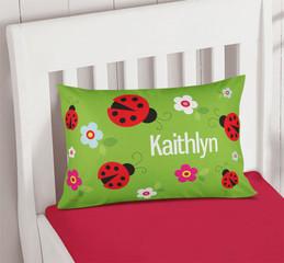Curious Lady Bug Kids Pillows