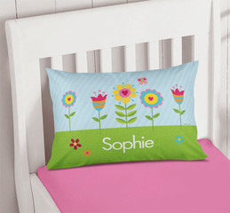 Spring Blooms Pillowcase Cover