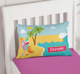 Fun At The Beach Name Pillows