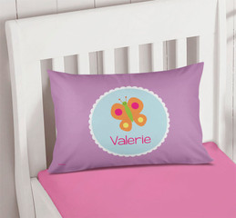 Sweet Butterfly Pillowcase Cover