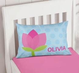 Cute Tulip Pillowcase Cover