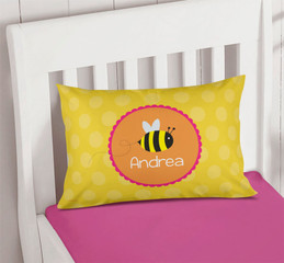Fly Little Bee Girls Decorative Pillows