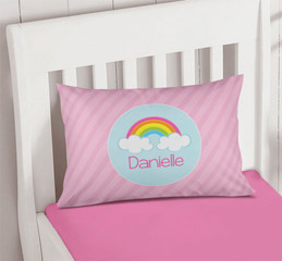 A Rainbow In The Sky Pillowcase Cover