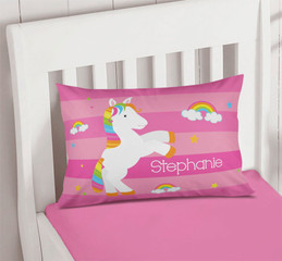 Playful Pony Personalized Pillow Covers