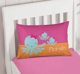 Cute Octopus Pillowcase Cover