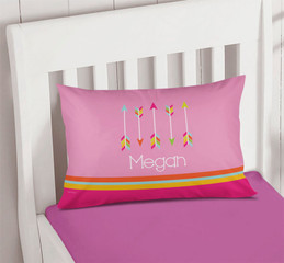 Colorful Arrows Kids Pillow Cover
