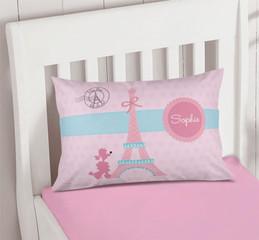 Ohh La La Paris Pillowcase Cover