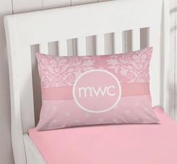 Pink Sweet Damask Pillowcase Cover